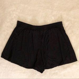 Forever 21 flowy black shorts